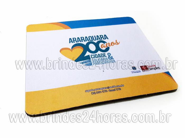 490325868 Mouse Pad Personalizado. Tamanho 19cm x 16 cm Material  Neopreme revestido  camada dupla de